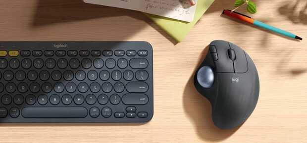 Nuevo ratón Logitech con trackball económico y ergonómico