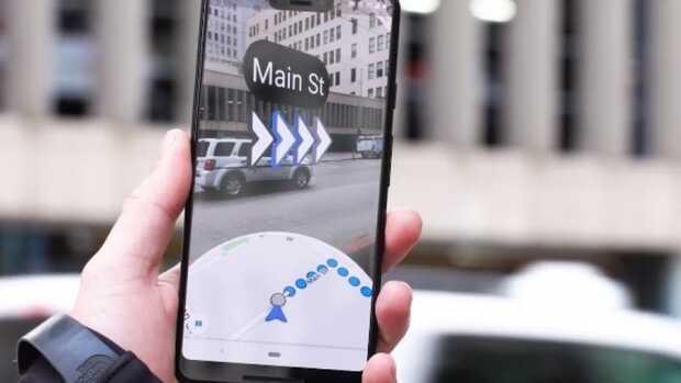 Google Maps en realidad aumentada te guiará aún mejor en la ciudad