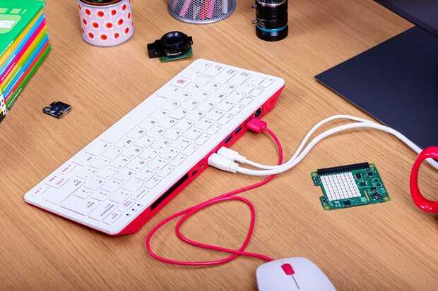 Raspberry Pi 400: un teclado compacto de $ 70 que en realidad es una computadora