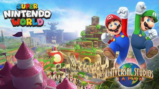 El parque de atracciones Super Nintendo World está listo para abrir