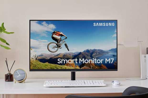 Nuevo Smart Monitor de Samsung para PC y celulares