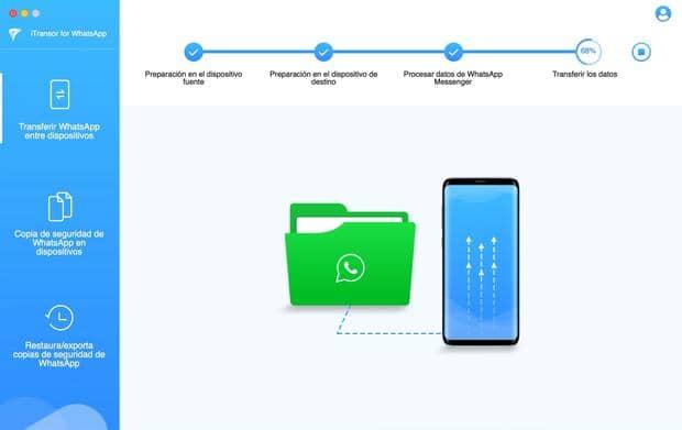 Paso a paso para transferir todo el contenido de WhatsApp entre iPhone y Android