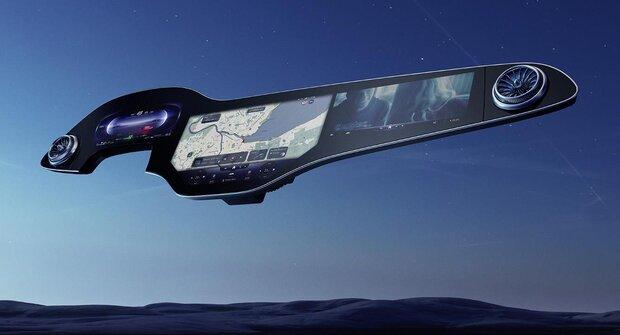 Mercedes-Benz presenta gran pantalla tablero para piloto y copiloto