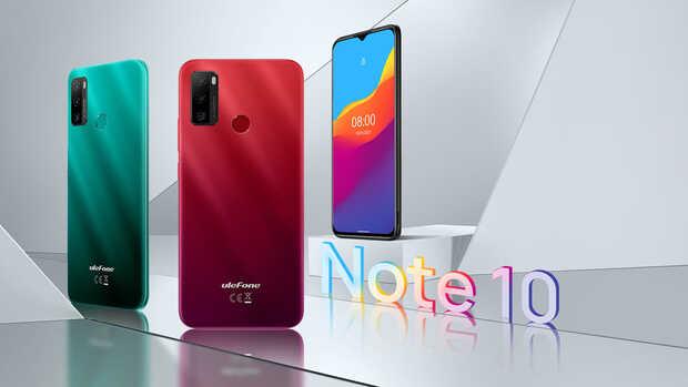 Ulefone Note 10 un nuevo teléfono inteligente de bajo presupuesto