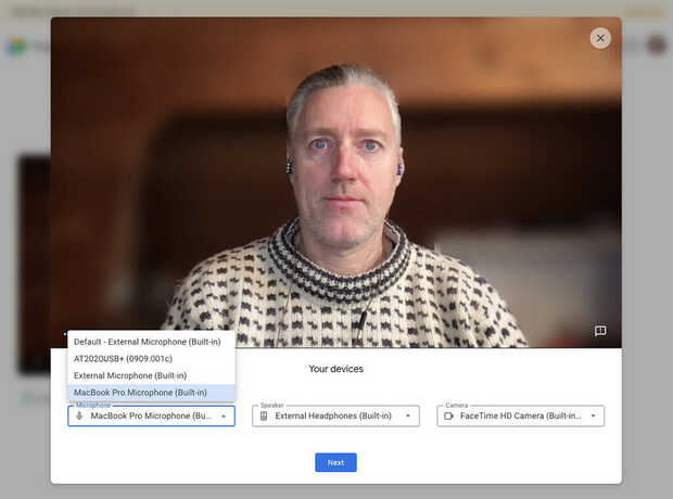 Google Meet: Así podrás comprobar el audio y video antes de una reunión