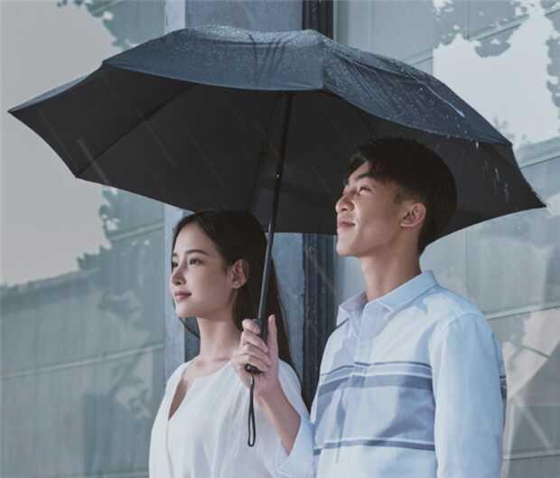 Lanzan paraguas automático con diseño desafiante y linterna