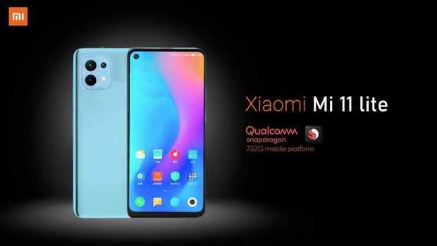 Xiaomi Mi 11 Lite 4G viene con procesador Snapdragon 732G y más...