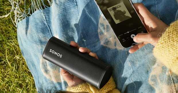 Altavoz inteligente Sonos Roam: diez horas de música en tamaño compácto