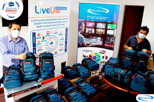 Elecciones de Perú y Ecuador serán transmitidas via LiveU
