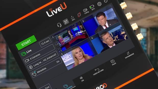 LiveU reconocido por Frost & Sullivan por el LU800 completa unidad de producción 5G para radiodifusores
