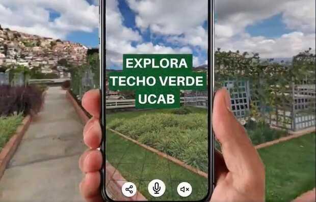Techo Verde de la UCAB ahora puede ser visitado virtualmente