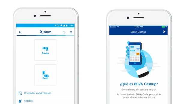 Envía dinero desde WhatsApp o Telegram con BBVA Cashup