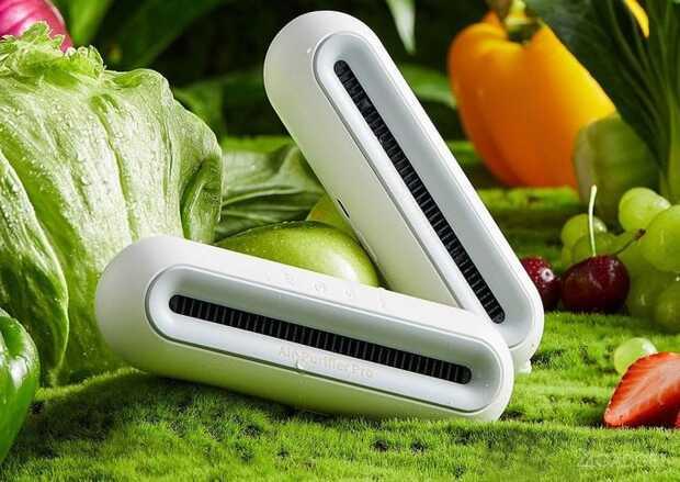 Purificador de aire elimina olores desagradables en armarios y refrigeradores