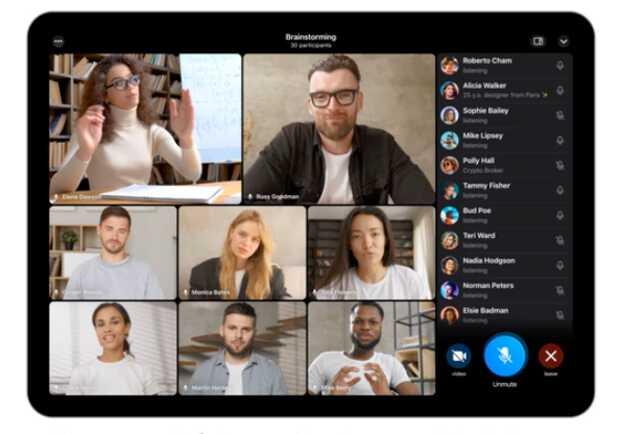 Telegram estrena videollamadas grupales de hasta 30 personas y permite compartir pantalla