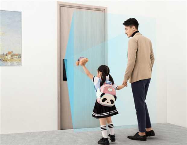 Asombrosa cerradura de puerta Xiaomi con inteligencia artificial y reconocimiento a primera vista