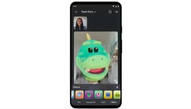 Google Meet agrega filtros y máscaras divertidas para videollamadas