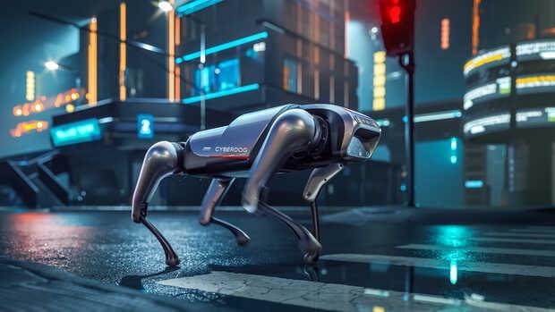 Xiaomi lanza CyberDog: un robot acompañante cuadrúpedo de código abierto