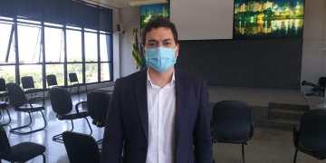 Secretário Frederico Lira explica que as inscrições já estão abertas. Foto: Thyago Humberto/DG.