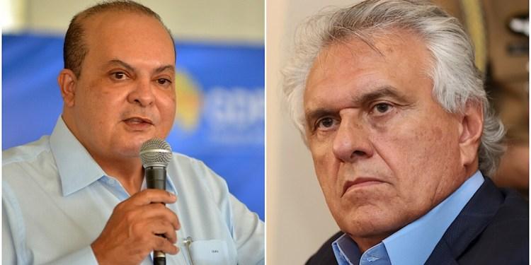 No começo do ano os dois políticos haviam se estranhando. Foto: reprodução/montagem.