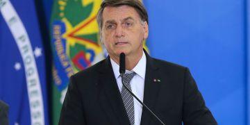 Presidente Jair Bolsonaro. Fábio Rodrigues/Agência Brasil.