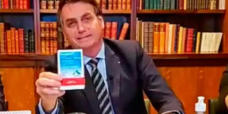 Presidente Jair Bolsonaro (foto reprodução perfil do facebook)