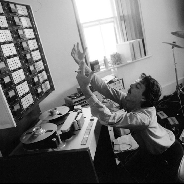 McCartney em estúdio