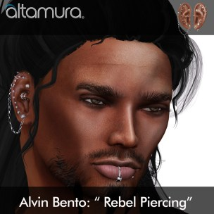 alvin rebel Piercing