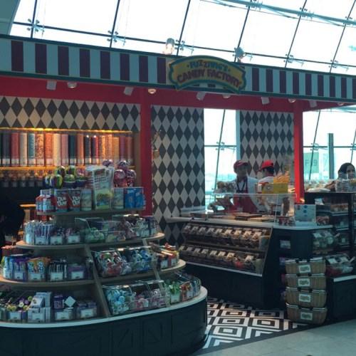 Keosk Branding in Dubai International Airport Terminal 3
