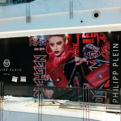 PhilippPlien Hoarding in Dubai Mall Fashion Avenue