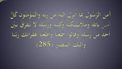 Photo of أتباع الرسل والأنبياء إخوة لنا