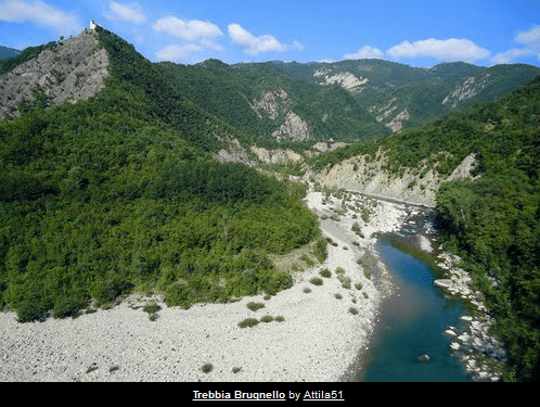 The best places to swim in the Trebbia (6/6)