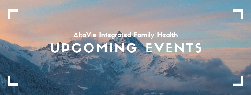 Events in Kelowna with AltaVie Health