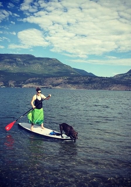 SUP while Pregnant - A good low intensity activity