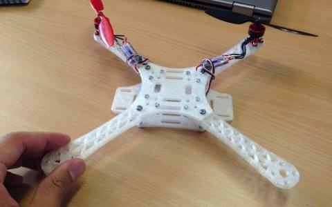 3D printed Quadrotor (TEGO v2)