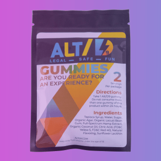 Alt/D9 THCP Gummies (New Product!)