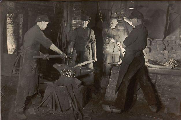 -95- Schmiede Heinich Fette 1932