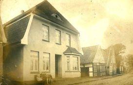 -118- Haus Schlaphorst, nach rechts: Millinghaus, Brükamps Heinrich, Scheper