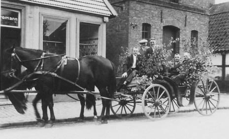 -95- Haus Strohmann, in dem die Familie eine Schlachterei/Metzgerei und ein Ladengeschäft betrieb.