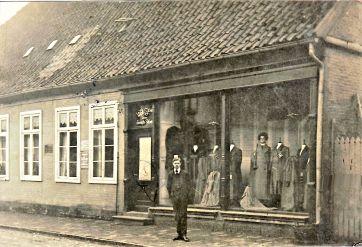 -100- Geschäftshaus Wilhelm Stüve um 1912
