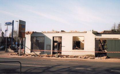-60- Abriss des alten Hauses Calvelage 2003