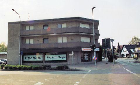 """-32- Reinigung """"Hanseat"""", Ecke Samskamp (siehe auch Bild Nr 62)"""