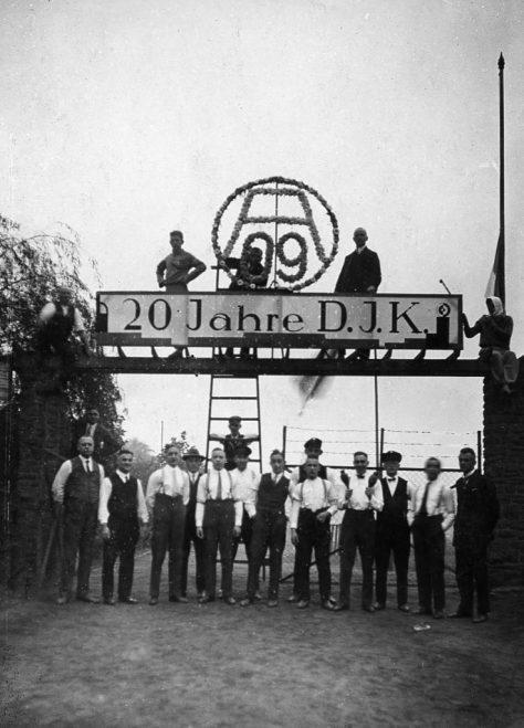 1929 - A09 feiert sein 20jähriges Bestehen.