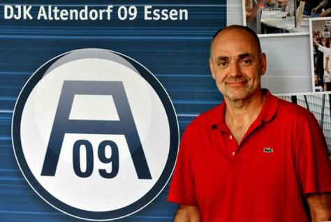 Trainer der Zweiten von A09: Georg Seitz