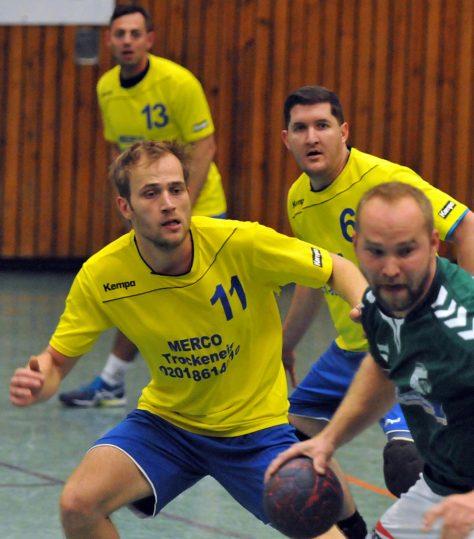Starke Leistung: Simon Wickhorst (11) und Christian Scholz (6)