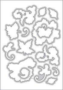 Lacy Scrolls border