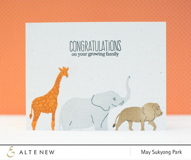 Altenew Baby Card by May_2