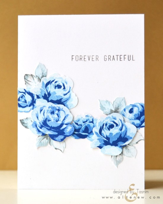 Blue Roses-