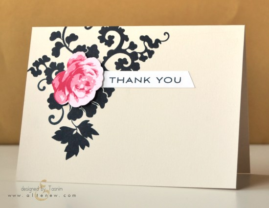 Vintage Roses + Lacy Scrolls