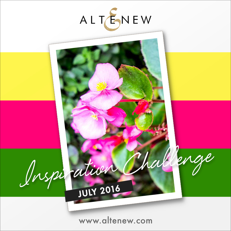 Altenew July Inspiration Challenge - Wedding Season!