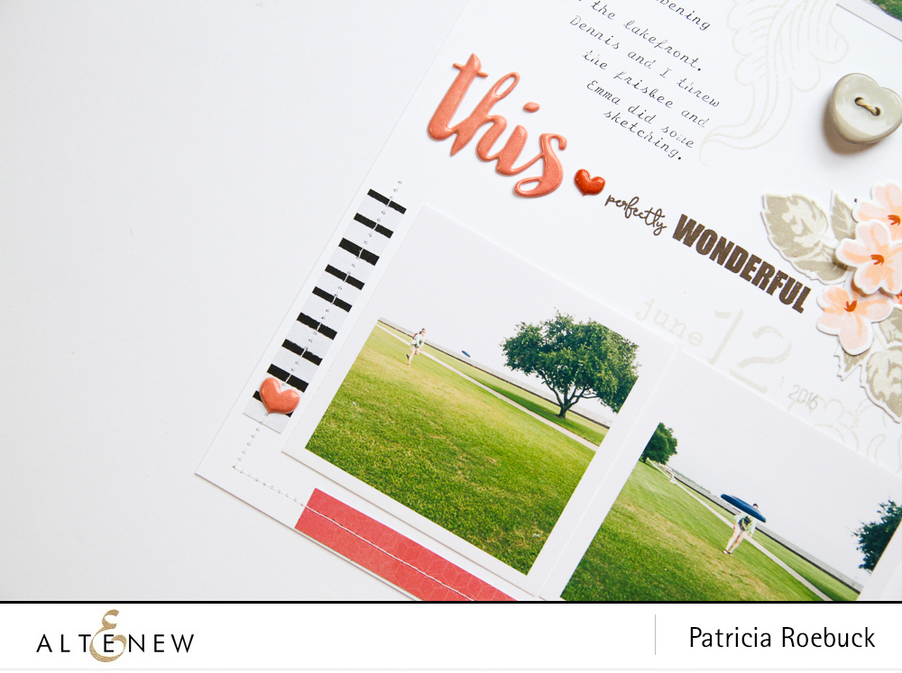 Working with bad or busy photos by @paroe for @altenew